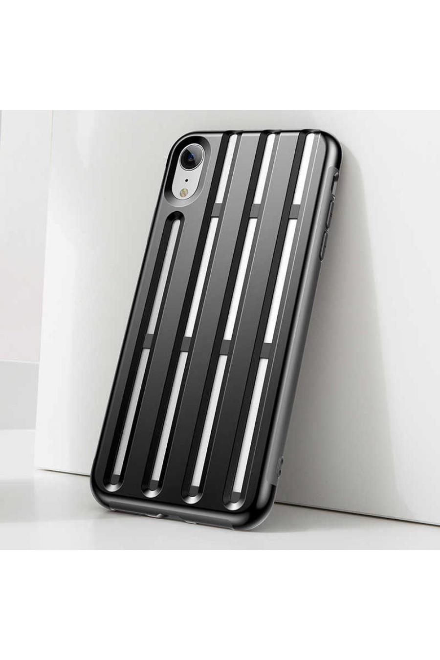 Apple iPhone XR 6.1 Kılıf Baseus Cycling Helmet Case