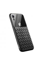 Apple iPhone XR 6.1 Kılıf Baseus Glass Weaving Case