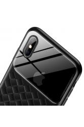 Baseus iPhone XS Max Glass Weaving Kılıf