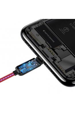 Baseus Baseus Glowing Data Cable Usb For Lightning Kablo