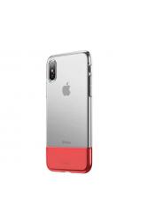 Apple iPhone XS 5.8 Kılıf Baseus Half to Half Backcover