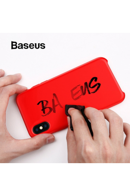 Baseus Baseus iPhone XS Max Liquid Silicone Kılıf