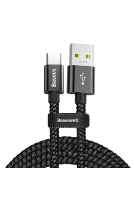 Baseus Baseus Double Fast Charger USB Cable Usb For Type-C 5A 1M
