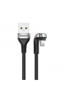 Baseus Baseus Green U-Shaped Lamp Mobil Game Cable Usb For IPhone 1.5A 2M
