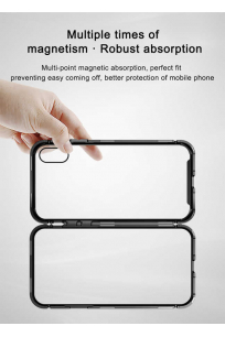Apple iPhone XR 6.1 Kılıf Baseus Magnetite Hardware