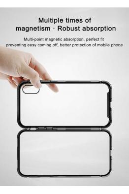 Baseus Apple iPhone XR 6.1 Kılıf Baseus Magnetite Hardware