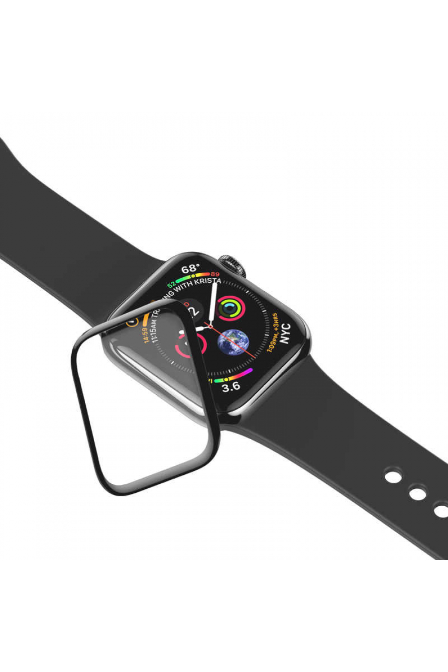 Apple Watch 40mm Baseus 0.3mm Full Screen Curved Tempered Film
