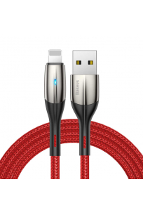 Baseus Horizontal Data Cable (With An İndicator Lamp) USB For IPhone 2.4A 2M