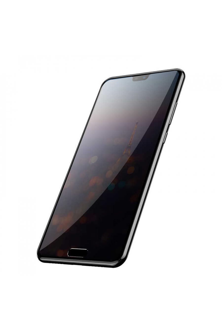 Baseus Huawei P20 Pro Anti-Spy Curved-Screen Cam Ekran Koruyucu