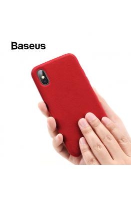 Baseus Baseus iPhone XS Max Smooth Fiber Kılıf
