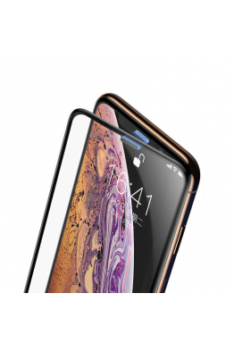 Baseus Baseus Full-Screen Curved iPhone XR Cam Ekran Koruyucu