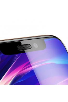 Baseus Baseus iPhone XS Max Full-Screen Curved Cam Ekran Koruyucu (Cellular Dust Prevention)