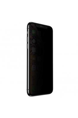 Baseus Baseus iPhone XS-X Full-Screen Curved Privacy Cam Ekran Koruyucu (Cellular Dust Prevention)