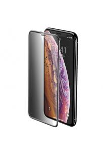 Baseus iPhone XR Full-Screen Curved Privacy Cam Ekran Koruyucu (Cellular Dust Prevention)