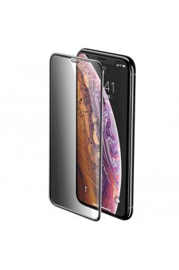 Baseus Baseus iPhone XR Full-Screen Curved Privacy Cam Ekran Koruyucu (Cellular Dust Prevention)