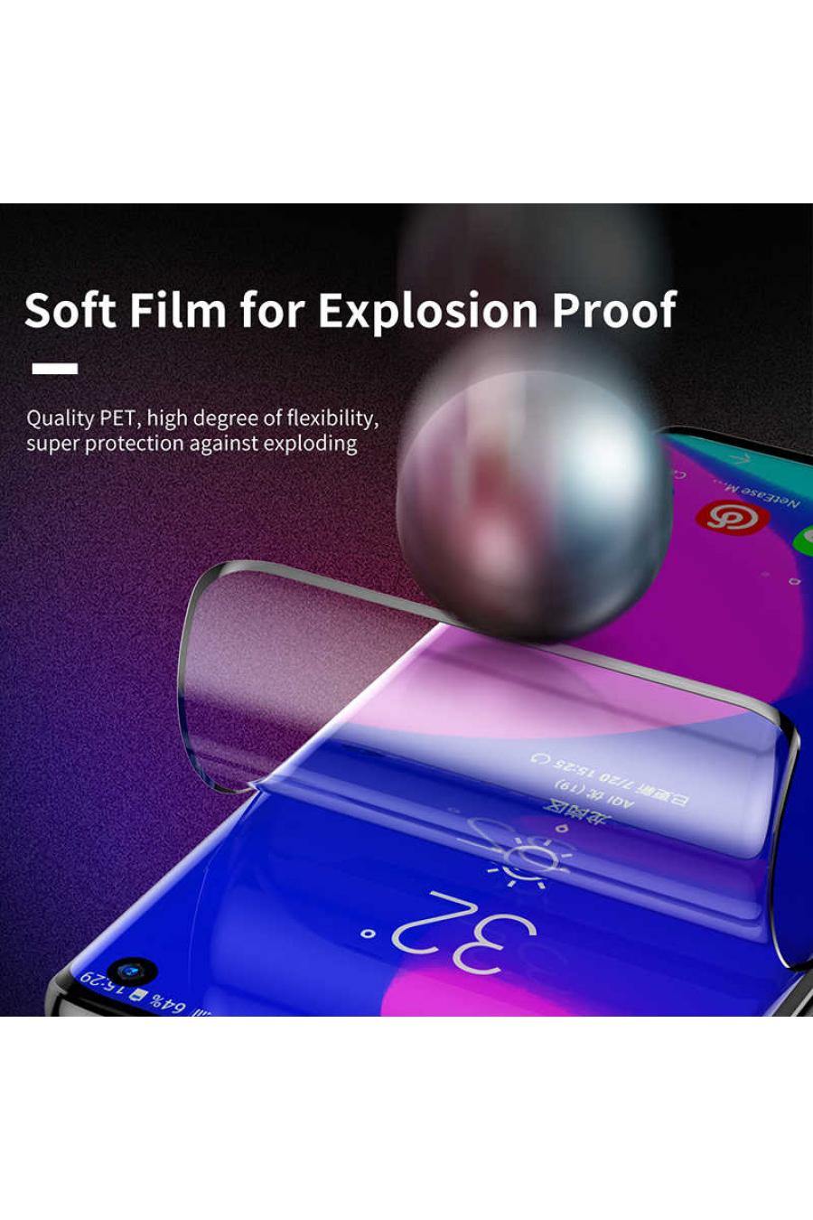 Baseus Galaxy S10 Full-Screen Curved Anti-Explosion Ekran Koruyucu Film