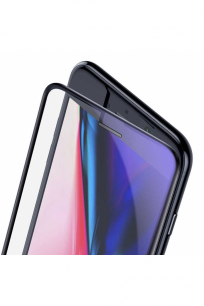 Baseus iPhone 8-7-6s-6 FS Curved Anti-Blue Light Cam Ekran Koruyucu