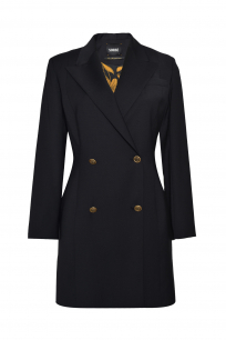 JACKET DRESS BLACK