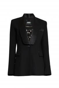 SHAWL COLLAR BLACK TUXEDO JACKET