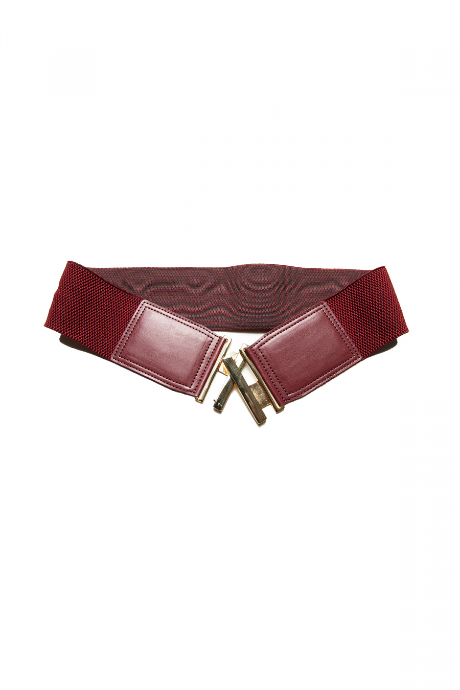 STICK BELT BURGUNDY