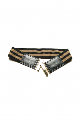 Sorbé STICK BELT BLACK GOLD