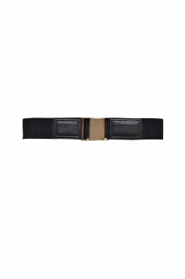 Sorbé MILITARY CLIP BELT BLACK