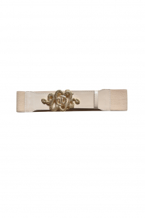TWIN SNAKES BELT BEIGE