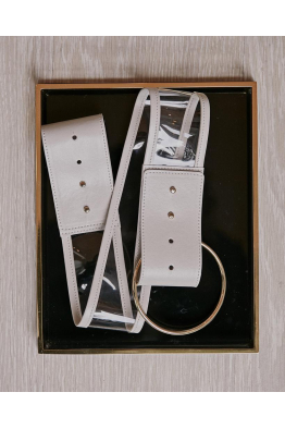 Sorbé GOLDEN RING BEIGE BELT