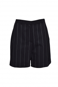SHORTS BLACK STRIPED
