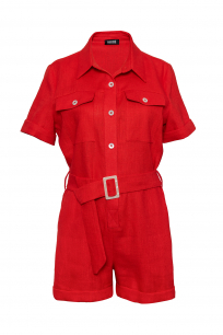 OVERALLS RED