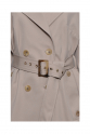 TRENCH COAT DOUBLE BREASTED EPAULETS SAND
