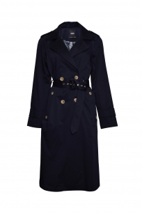 TRENCH COAT DOUBLE BREASTED NAVY