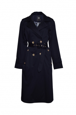 Sorbé TRENCH COAT DOUBLE BREASTED NAVY