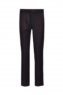 SIGARED BLACK TEXTURED PANTS