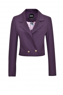 SHORT JACKET PURPLE