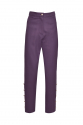 SLIT PANTS PURPLE