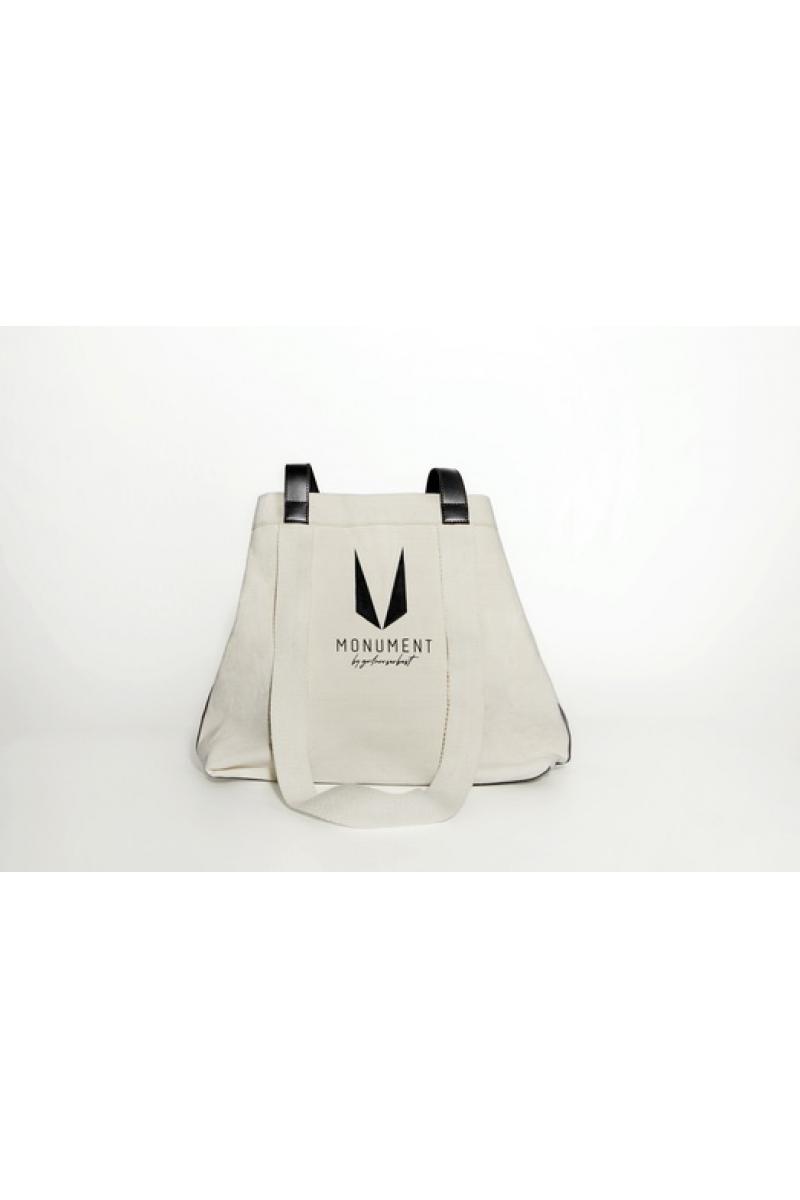 Tote bag  with black handles