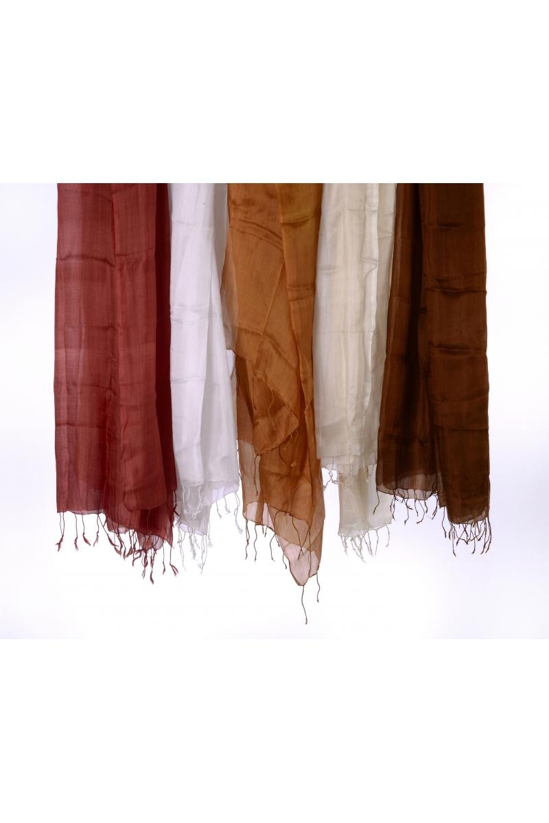 İpek Şal / Turuncu renk