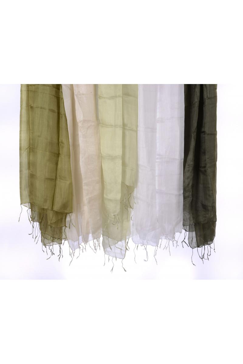 İpek Şal /  Su Yeşili Rengi