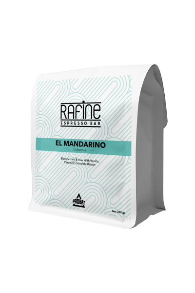 Rafine Espresso Bar Kolombiya El Mandarino Kahve Çekirdeği - 250gr.