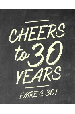 30 Yaş el board