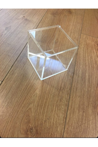 Pleksi Kapaklı Kutu  Pleksi Kapaklı Kutu