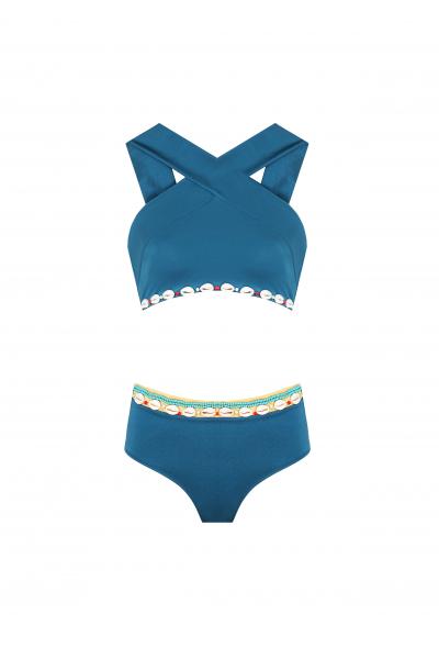 Zoe Sky Blue Bikini Zoe Sky Blue Bikini