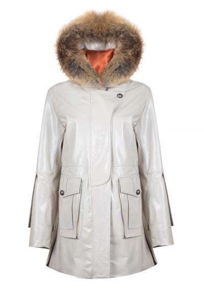 Malo Rugan Kapşonlu Palto