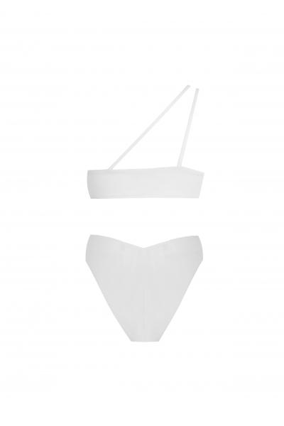 Sola White Bikini
