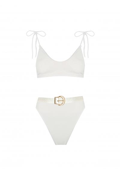 Liva White Bikini