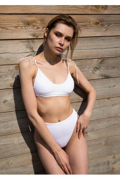 H6 By Hazal Ozman Liva White Bikini