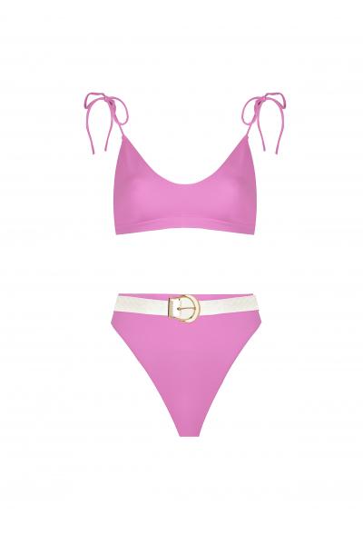 H6 By Hazal Ozman Liva Pink Bikini