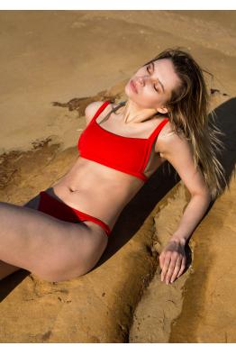 H6 By Hazal Ozman Alice Red Bikini