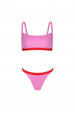 H6 By Hazal Ozman Alice Pink Bikini